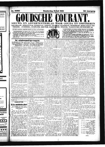 Goudsche Courant 1923-07-12