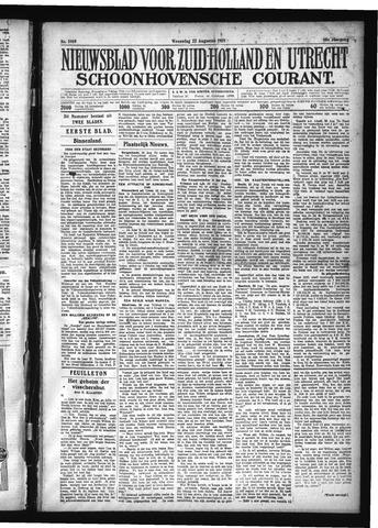 Schoonhovensche Courant 1928-08-22