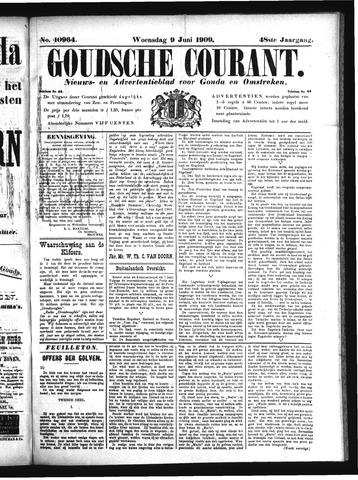 Goudsche Courant 1909-06-09