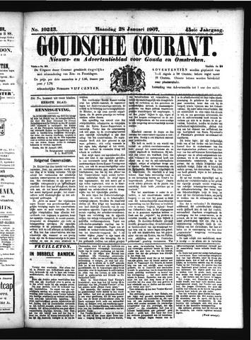 Goudsche Courant 1907-01-28