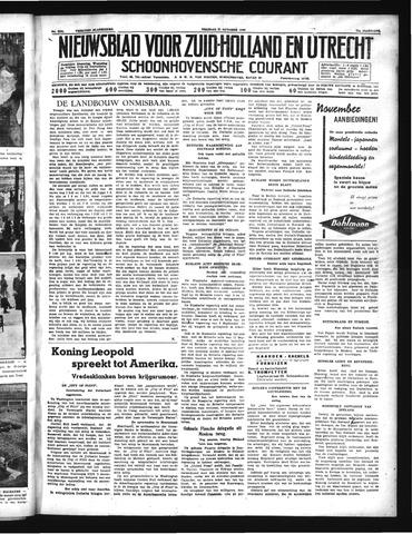 Schoonhovensche Courant 1939-10-27