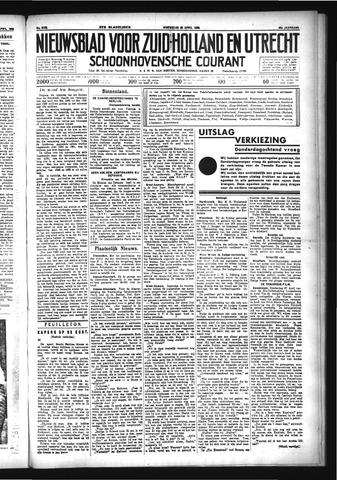Schoonhovensche Courant 1933-04-26