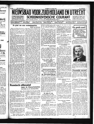 Schoonhovensche Courant 1940-01-24