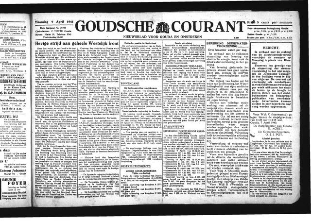Goudsche Courant 1945-04-09