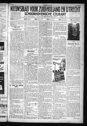 Schoonhovensche Courant 1931-05-18