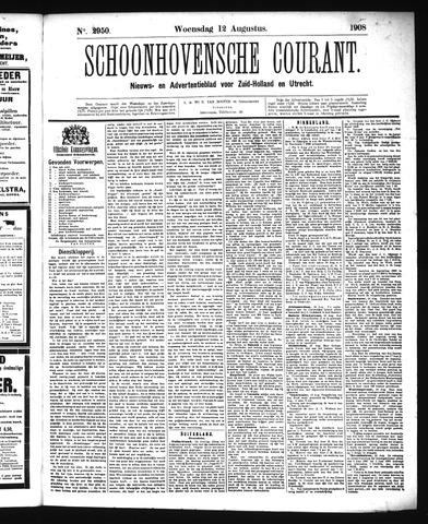Schoonhovensche Courant 1908-08-12