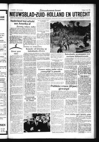 Schoonhovensche Courant 1963-07-19