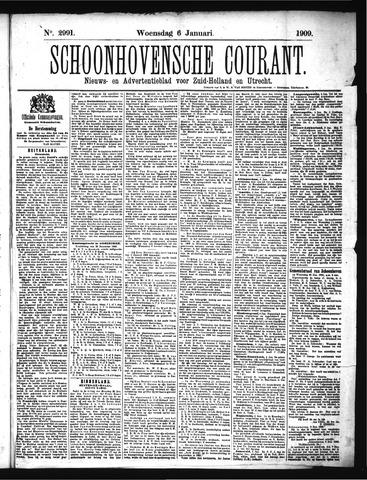 Schoonhovensche Courant 1909-01-06