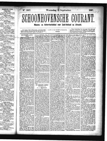 Schoonhovensche Courant 1897-09-15