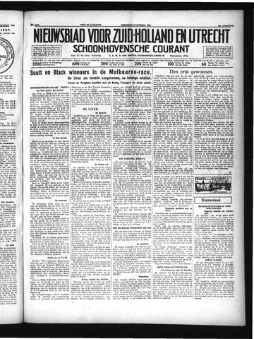 Schoonhovensche Courant 1934-10-24