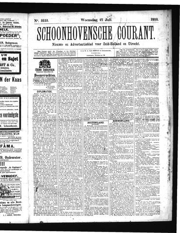 Schoonhovensche Courant 1910-07-27