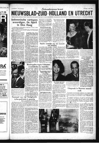 Schoonhovensche Courant 1963-04-01