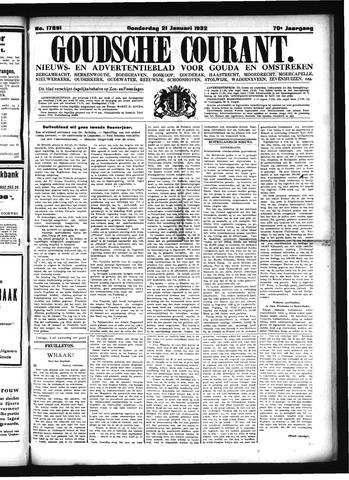 Goudsche Courant 1932-01-21