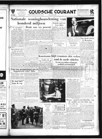 Goudsche Courant 1957-10-07