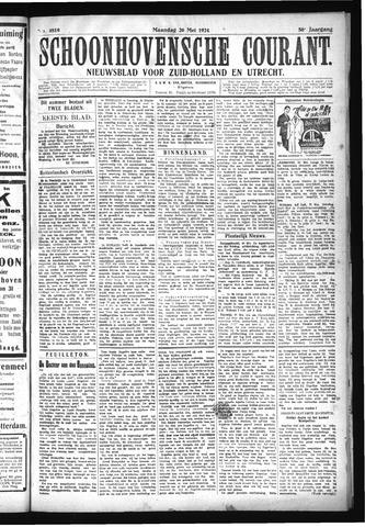 Schoonhovensche Courant 1924-05-26