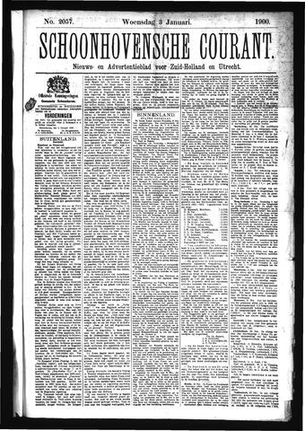 Schoonhovensche Courant 1900-01-03