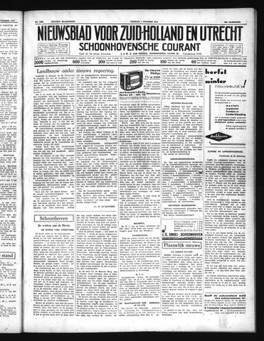 Schoonhovensche Courant 1937-10-01