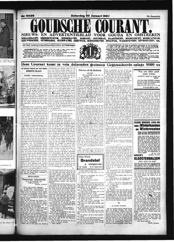 Goudsche Courant 1937-01-23