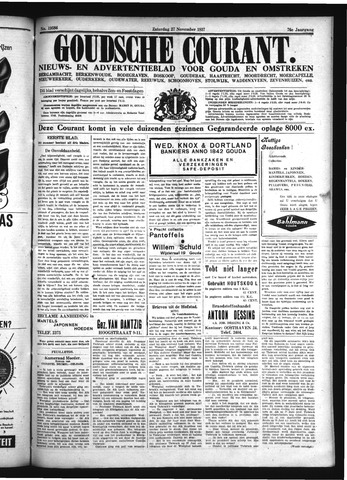 Goudsche Courant 1937-11-27
