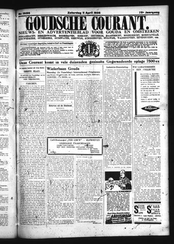 Goudsche Courant 1936-04-11