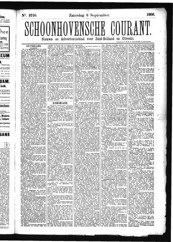 Schoonhovensche Courant 1906-09-08