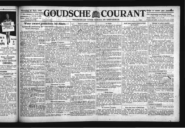 Goudsche Courant 1944-11-27