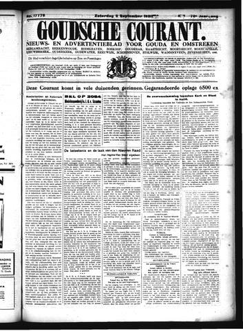 Goudsche Courant 1931-09-05