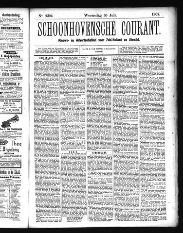 Schoonhovensche Courant 1902-07-30