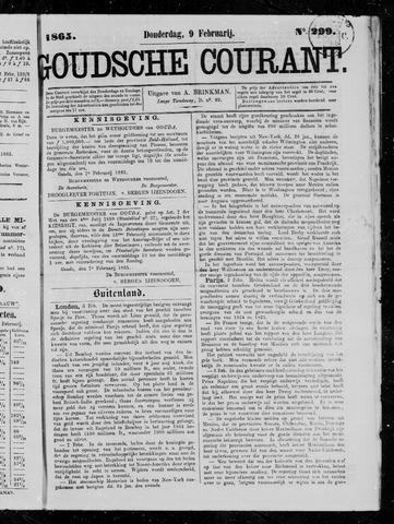 Goudsche Courant 1865-02-09