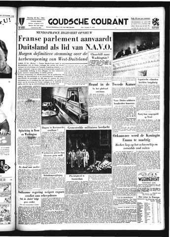 Goudsche Courant 1954-12-28