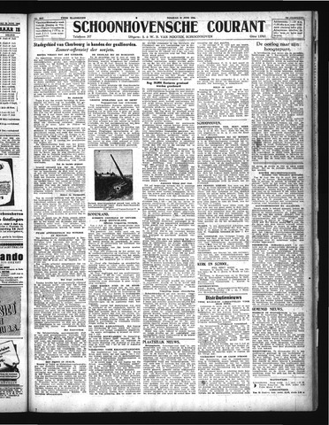 Schoonhovensche Courant 1944-06-27