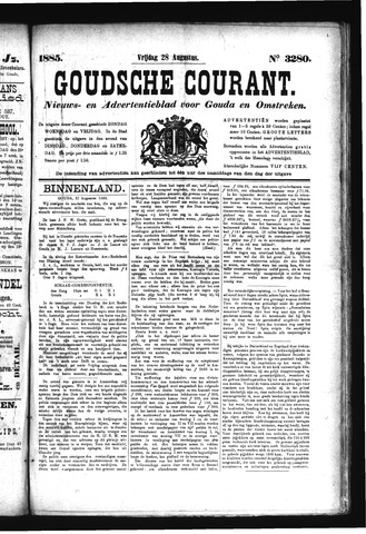 Goudsche Courant 1885-08-28