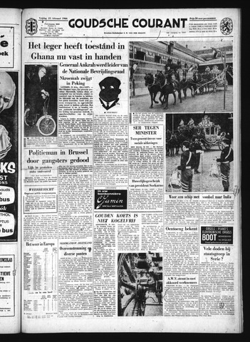 Goudsche Courant 1966-02-25