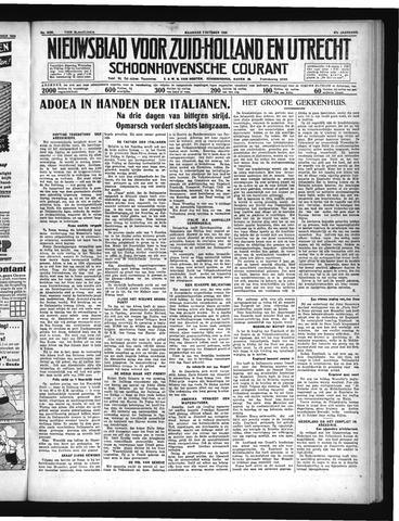Schoonhovensche Courant 1935-10-07