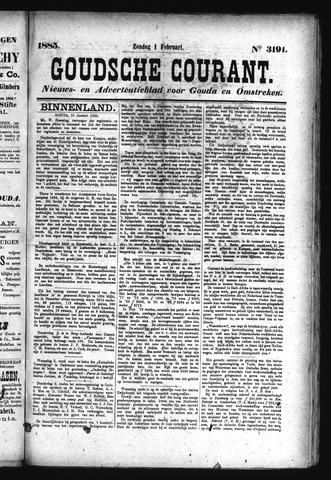 Goudsche Courant 1885-02-01