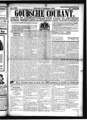 Goudsche Courant 1928-11-10
