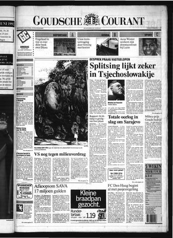 Goudsche Courant 1992-06-09