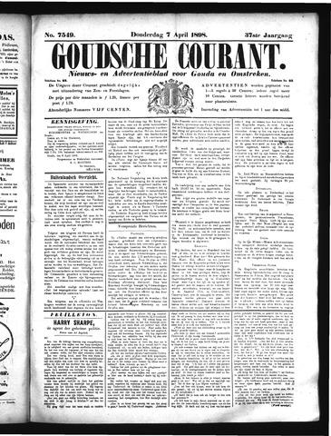 Goudsche Courant 1898-04-07