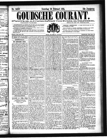 Goudsche Courant 1921-02-26