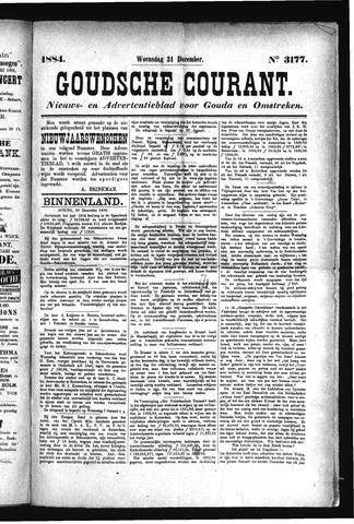 Goudsche Courant 1884-12-31