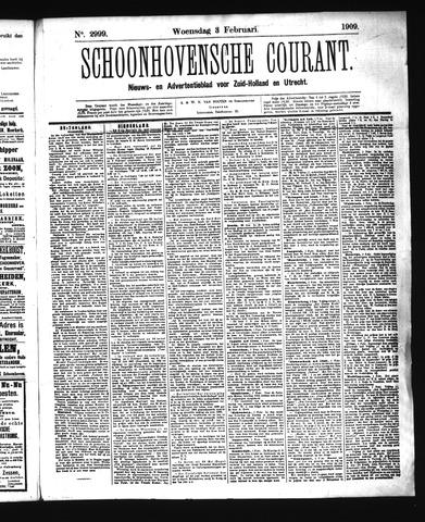 Schoonhovensche Courant 1909-02-03