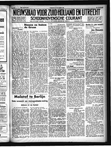 Schoonhovensche Courant 1940-11-13