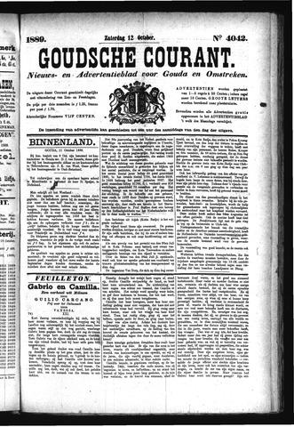 Goudsche Courant 1889-10-12