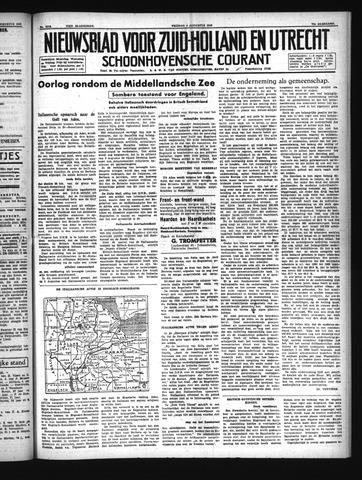 Schoonhovensche Courant 1940-08-09