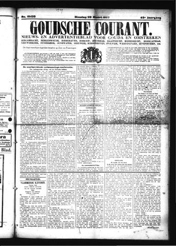 Goudsche Courant 1927-03-29