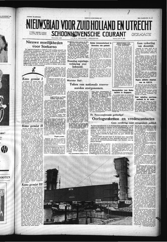 Schoonhovensche Courant 1957-12-20