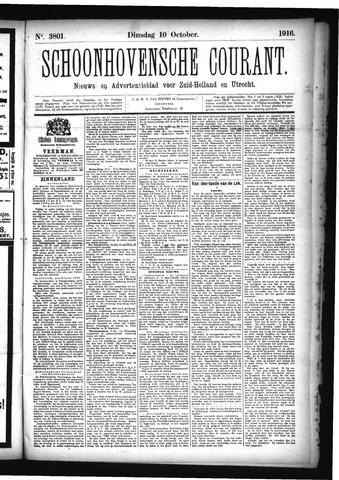 Schoonhovensche Courant 1916-10-10