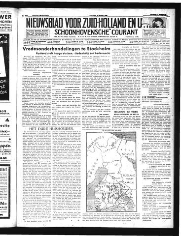 Schoonhovensche Courant 1940-03-08