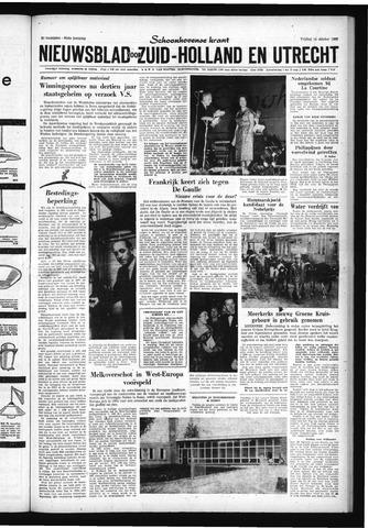 Schoonhovensche Courant 1960-10-14