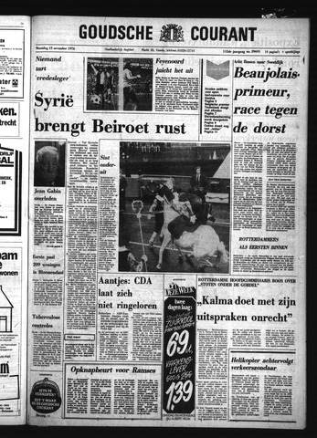 Goudsche Courant 1976-11-15